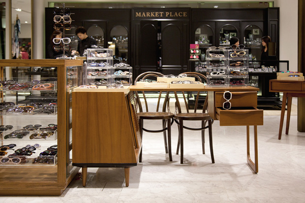 Cutler & Gross Pop-Up Store @ Lane Crawford Canton Road