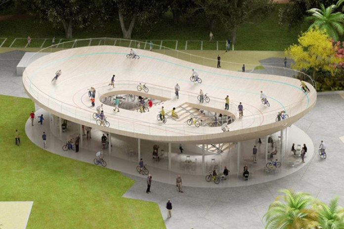 Cycling Pavilion in Hainan China by NL Architects