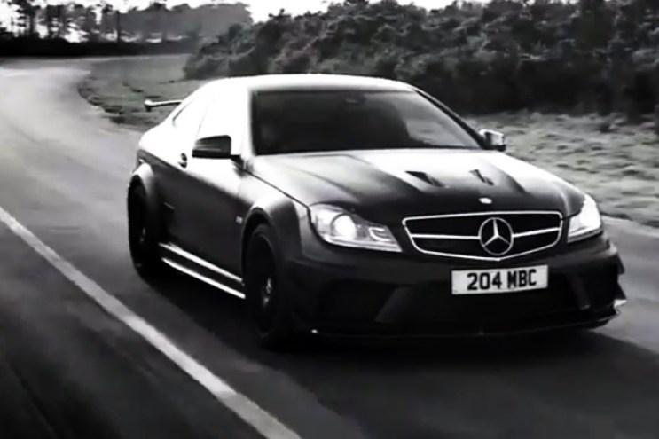 Dark Side of the Black Series Mercedes-Benz C63 AMG Video