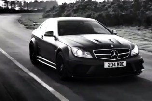 Dark Side of the Black Series Mercedes-Benz C63 AMG Video