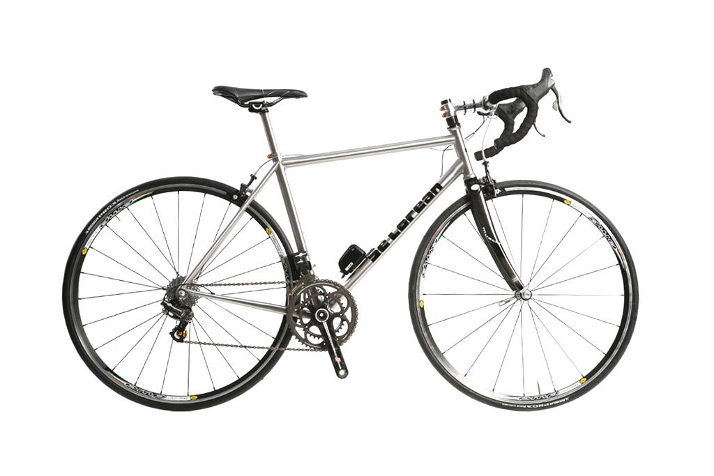 delorean bicycle