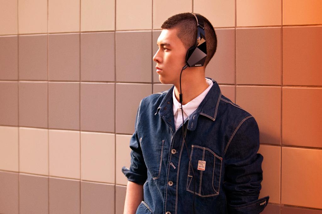 Diesel x Monster Vektr Headphone Lookbook