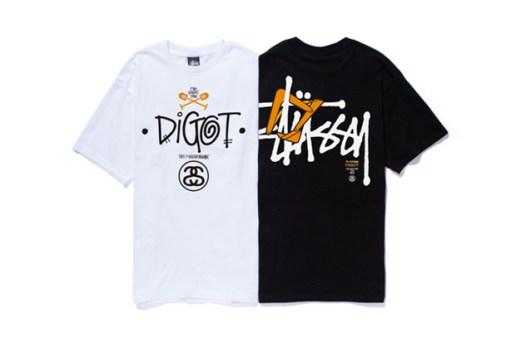 DIGOT x Stussy 1st Anniversary T-Shirt