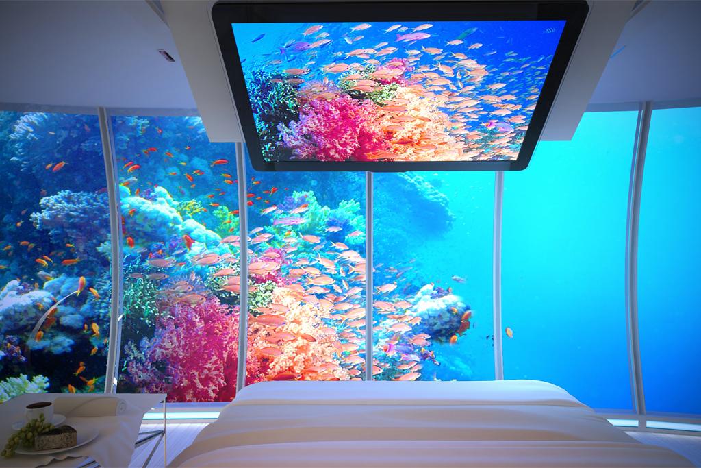 dubai water discus underwater hotel