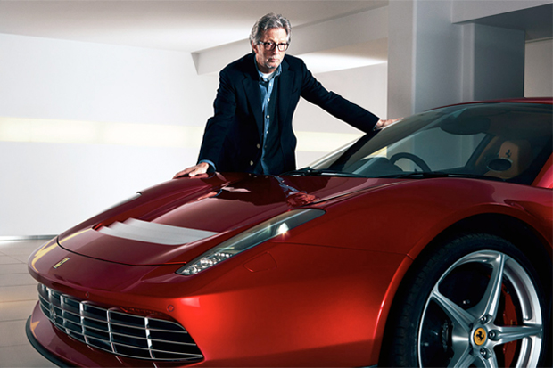 Eric Clapton's Almost $5 Million Dollar Ferrari SP12 EC