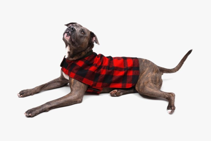 Filson 2012 Reversible Red Plaid Dog Coat