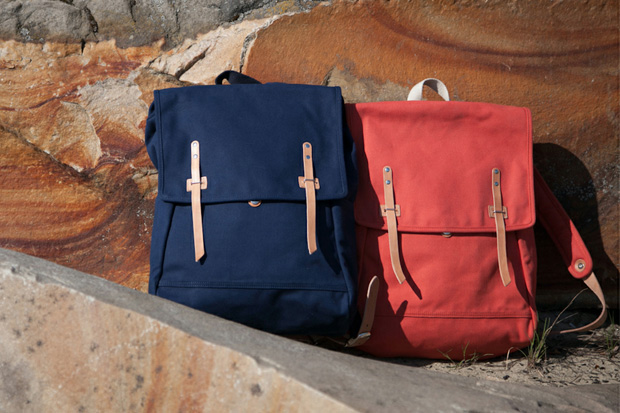 FOTT x Makr Carry Goods Backpack Lookbook