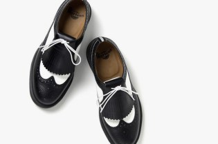 Fred Perry x Dr. Martens 2012 Spring/Summer Quilt Wingtip