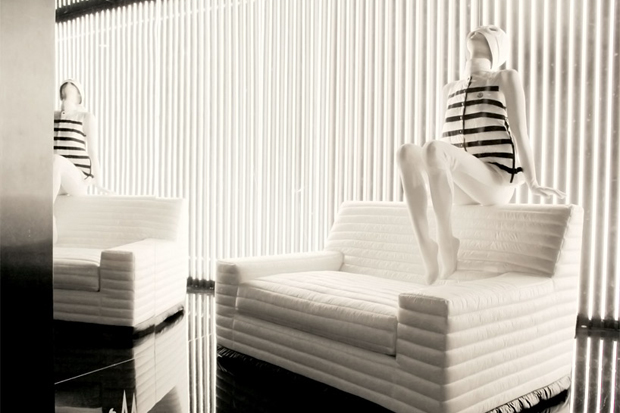 gilles amp boissier sit on my doudoune sofa for moncler