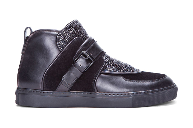 Givenchy 2012 Spring/Summer Black Padded Leather Sneakers