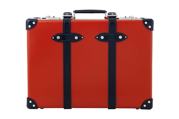 globe trotter red white and blue limited edition luggage series