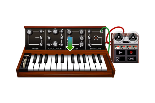 Google Creates Playable Moog Synthesizer Logo as Tribute