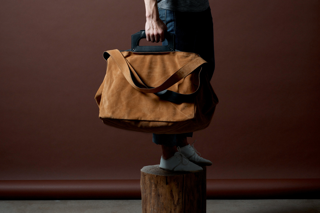 hard graft Square1 Holdall / Campfire