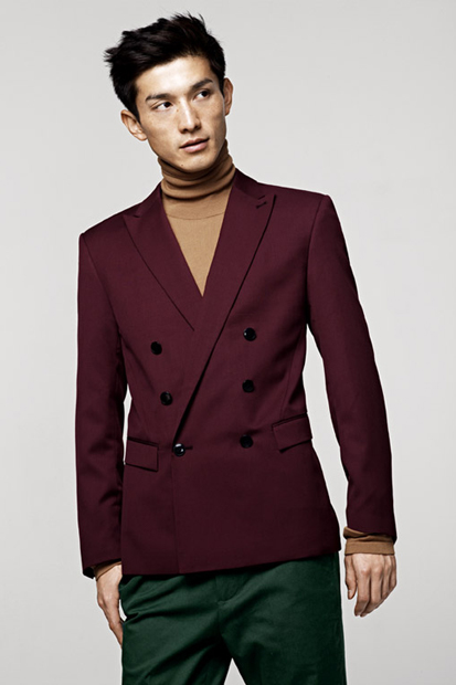 H&M 2012 Fall Lookbook