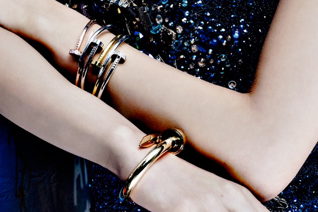 honeyee cartier 2012 juste un clou collection editorial
