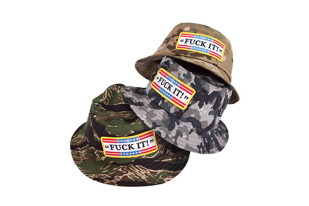 """HUF 2012 Summer """"Fuck It"""" Headwear"""