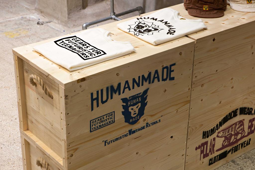 human made installation dover street market