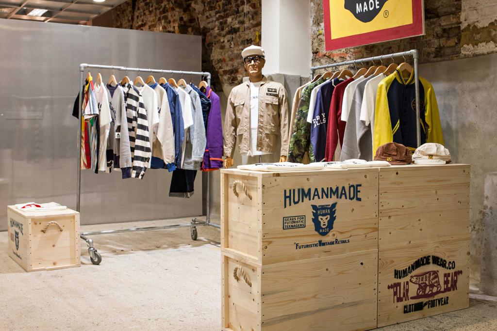 HUMAN MADE Installation @ Dover Street Market