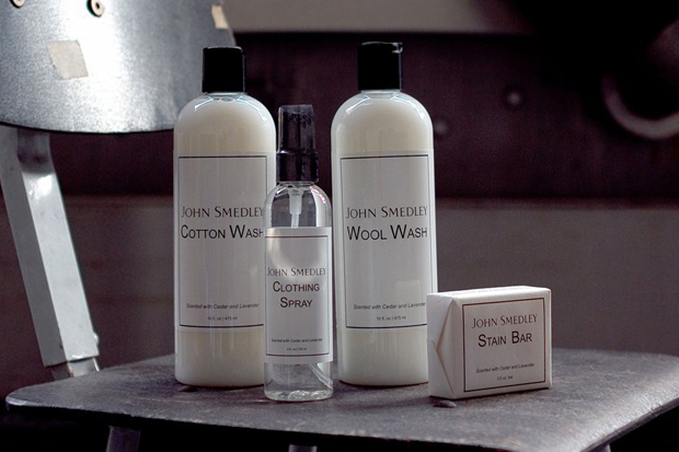 John Smedley Care Products