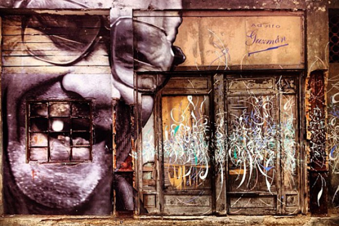 "JR x Jose Parla ""The Wrinkles Of The City"" Cuba Project"