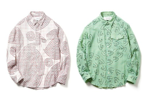 Julien David 2012 Fall/Winter Print Shirts
