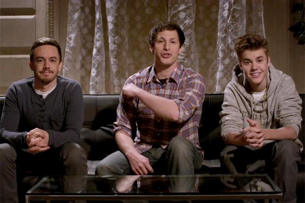 Justin Bieber Joins Usher, Lonely Island & Justin Timberlake for 100th SNL Digital Short
