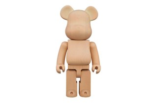 Karimoku x Medicom Toy 400% Glow-in-the-Dark Bearbrick