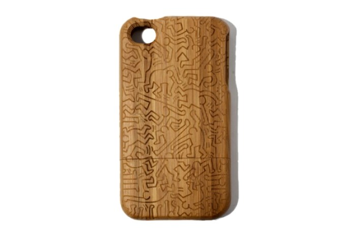 Keith Haring x COLORS TOKYO Bamboo iPhone 4/4S Case