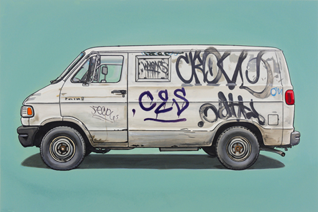 "Kevin Cyr ""In Praise of Rust"" Exhibition @ Jonathan Levine Gallery"