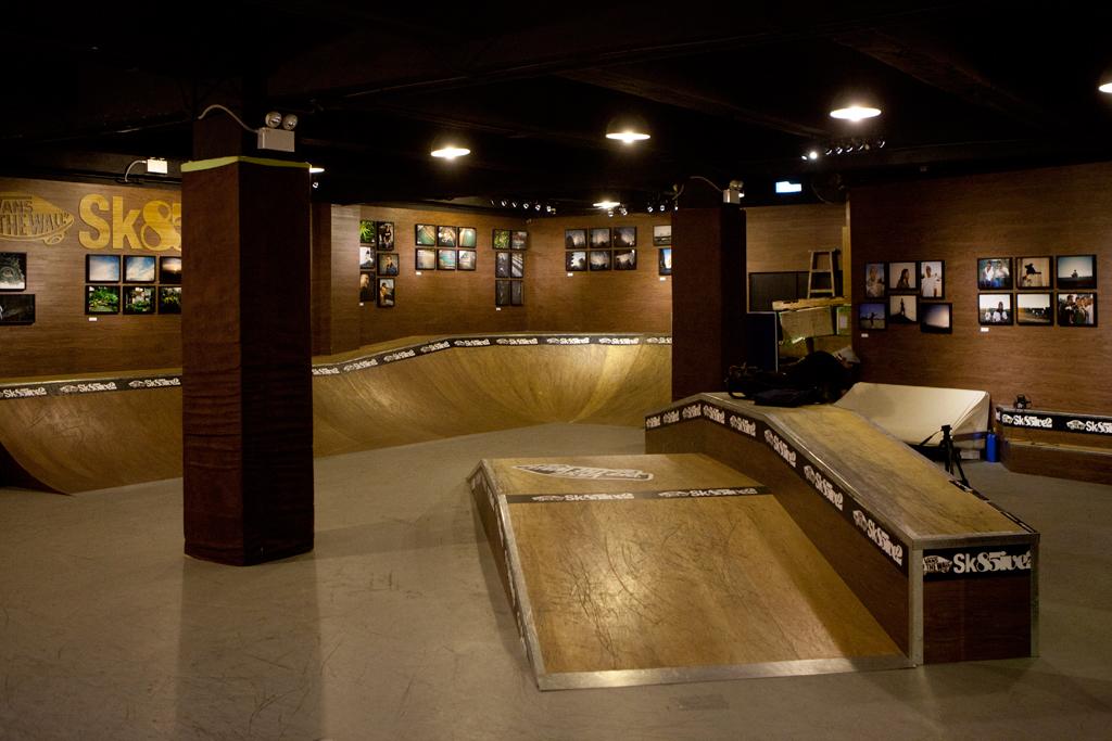 Know1edge x L.I.F.E Exhibition @ Vans Sk85ive2 Indoor Skatepark Recap