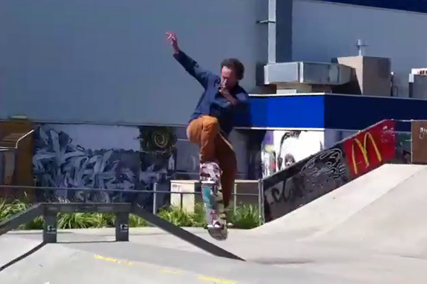 """Krooked Skateboards: Mark Gonzales """"Gonz Dancing"""" Skate Video"""