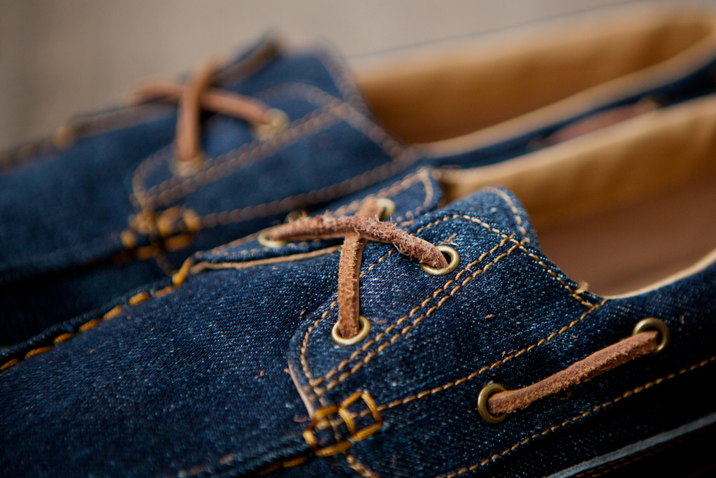 levis footwear 2012 spring summer cone denim vulcanized deck shoes