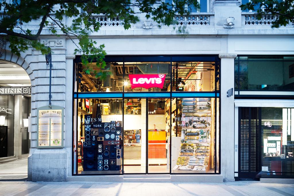Levi's Paris Flagship Store Opening