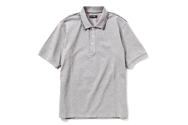 liberty x cash ca piping polo shirt