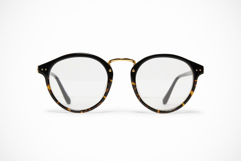 Linda Farrow Luxe Round Frame Optical Glasses