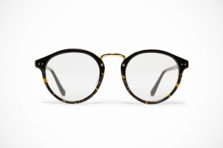 Linda Farrow Luxe Round Frame Optical Glasses