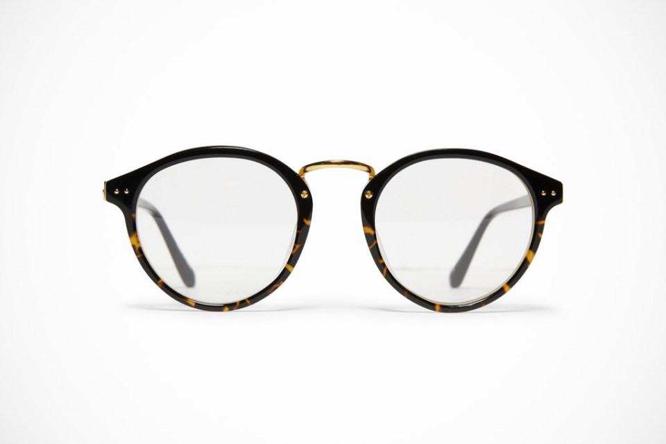 Linda Farrow Luxe Round Frame Optical Glasses HYPEBEAST