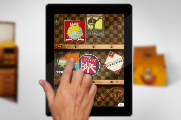 "Louis Vuitton ""100 Legendary Trunks"" iPad App"
