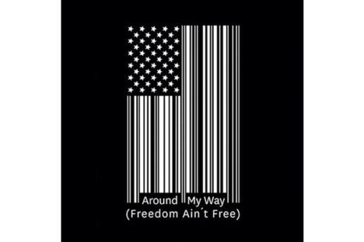 Lupe Fiasco – Around My Way (Freedom Ain't Free) Single Cover Art