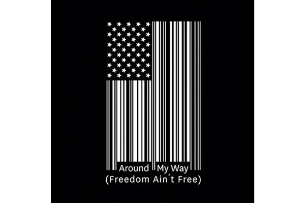 lupe fiasco around my way freedom aint free single cover art