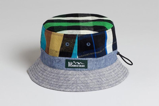 MANASTASH Hemp Check Hat