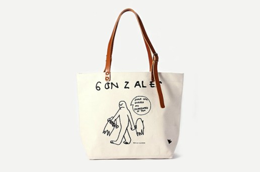 Mark Gonzales by AVOID x Journal Standard Canvas Tote Bag
