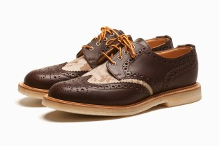 "Mark McNairy ""Chocolate"" Country Brogue Shoes"