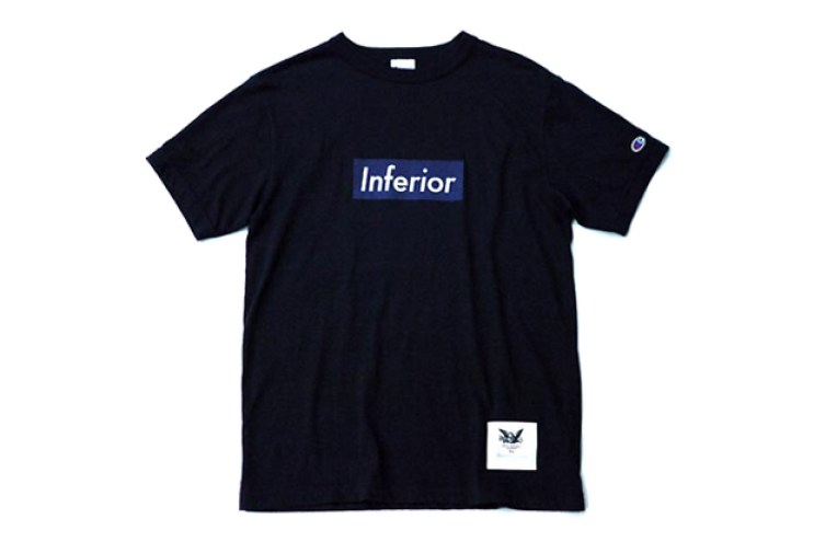 "Heather Grey Wall x Mark McNairy 2012 Spring/Summer ""Inferior"" T-Shirt"