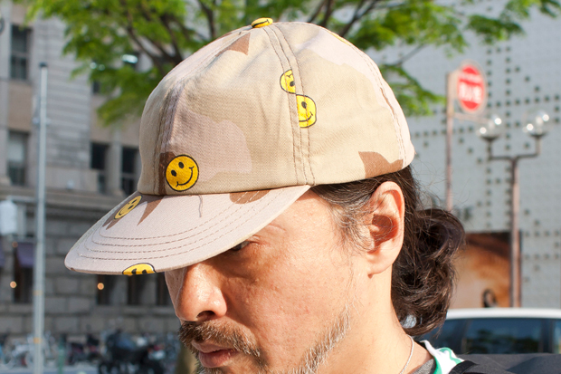 Mark McNairy Smiley Face Camo Cap