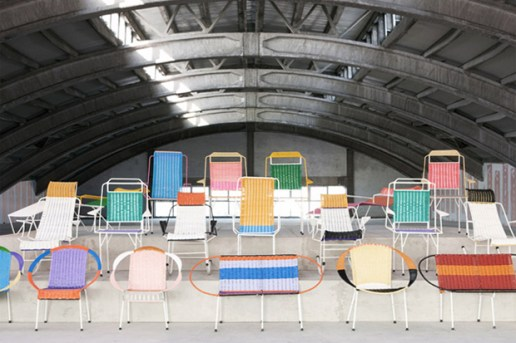 "Marni Taps Colombian Ex-Prisoners to Create ""100 Chairs"""