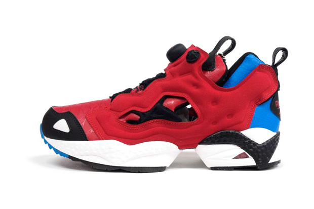 marvel x reebok insta pump fury spider man