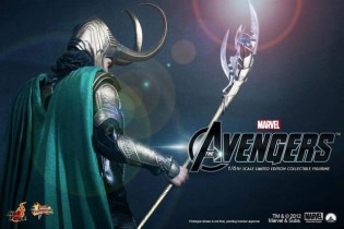 Marvel's The Avengers x Hot Toys LOKI 1/6 Figure Teaser