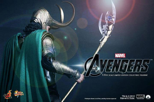 marvels the avengers x hot toys loki 1 6 figure teaser