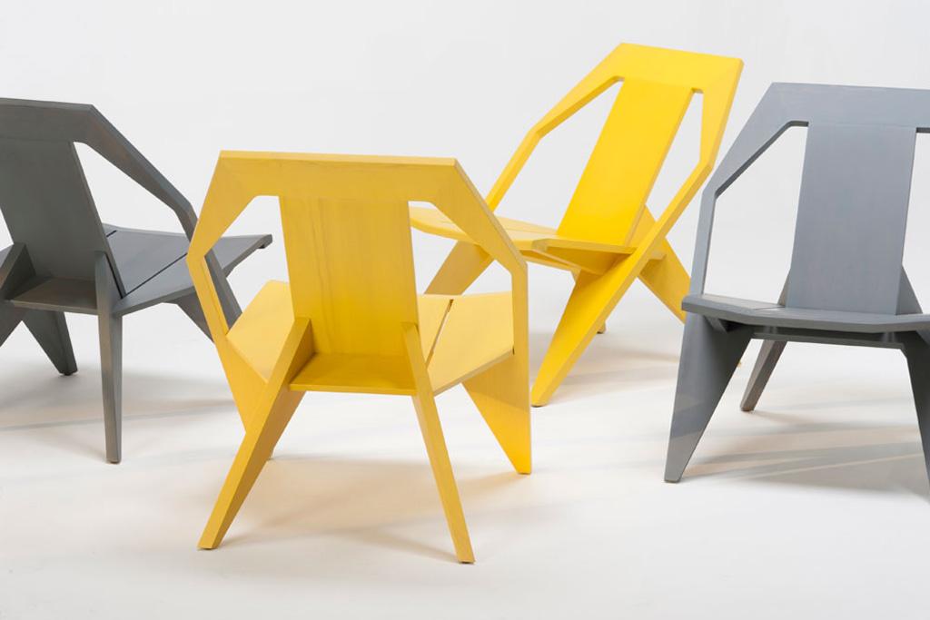 Mattiazzi MEDICI Chair by Konstantin Grcic